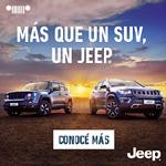 Visita el Sitio Oficial de Jeep Argentina.