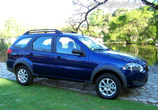 Fiat Palio Weekend 2009 Trekking 1.4 3
