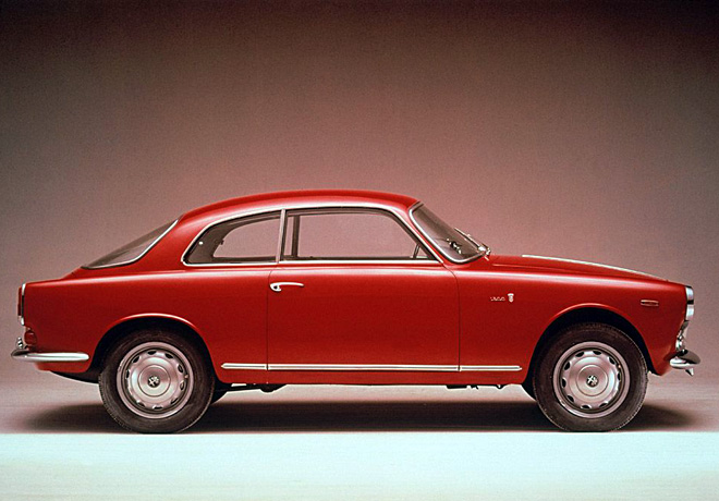 Alfa Romeo Giulietta Sprint 1954-1956