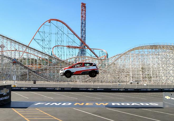 Chevrolet - Rob Dyrdek establece record Guinness con un Sonic