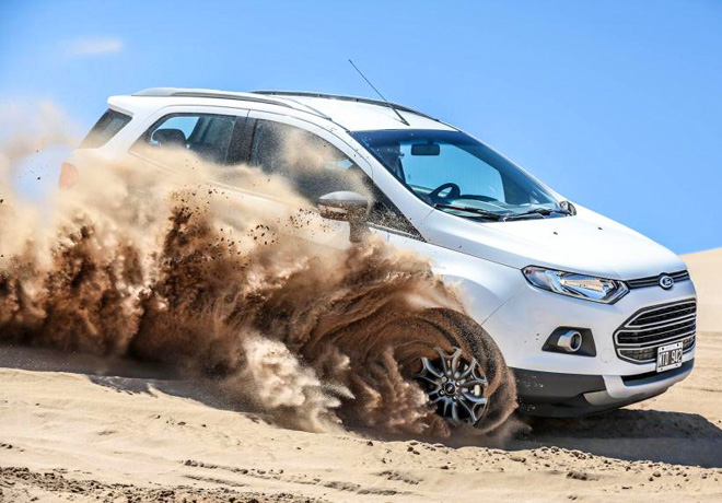 Ford - La nueva EcoSport fue el vehiculo mas vendido en Argentina en enero