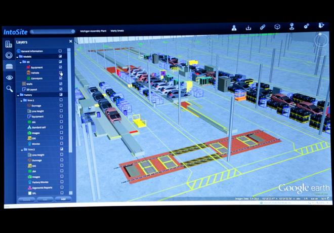 Ford mejora el proceso de produccion a traves de un sistema basado en Google Earth 1