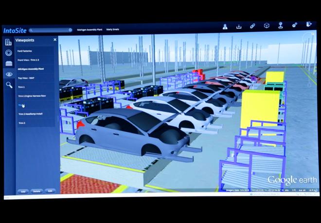 Ford mejora el proceso de produccion a traves de un sistema basado en Google Earth 2