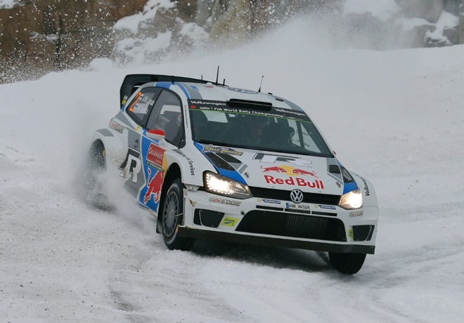Jari-Matti Latvala - VW Polo R
