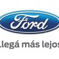 Logo Ford - Llega mas lejos