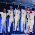 Podio WRC - Suecia