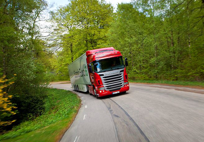 Scania nuevamente en lo mas alto en materia de sustentabilidad