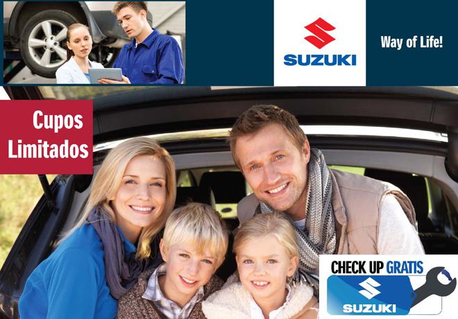 Suzuki llevará a cabo su primer Free Check-Up Campaign junto a sus clientes