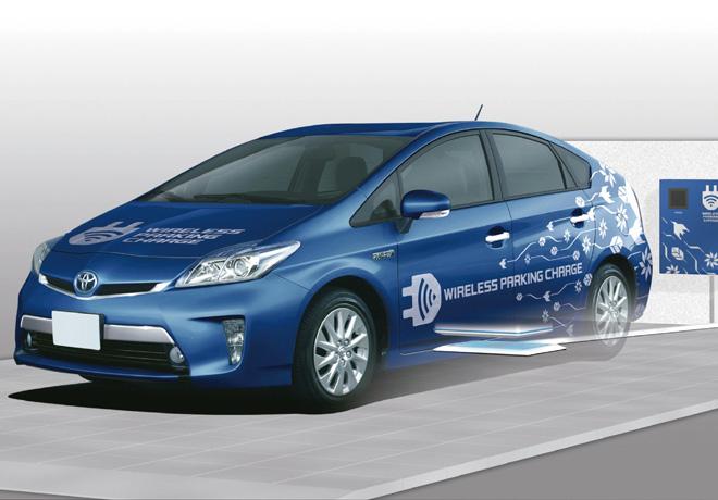 Toyota - Sistema de carga inalambrico