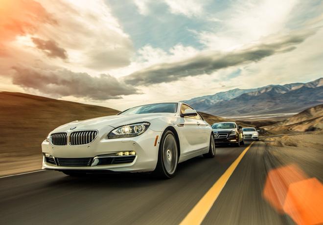 BMW 650i Gran Coupe - Mercedes-Benz CLS550 - Audi S7
