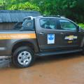 Chevrolet S10 en el viaje de la Fundacion FOA 1