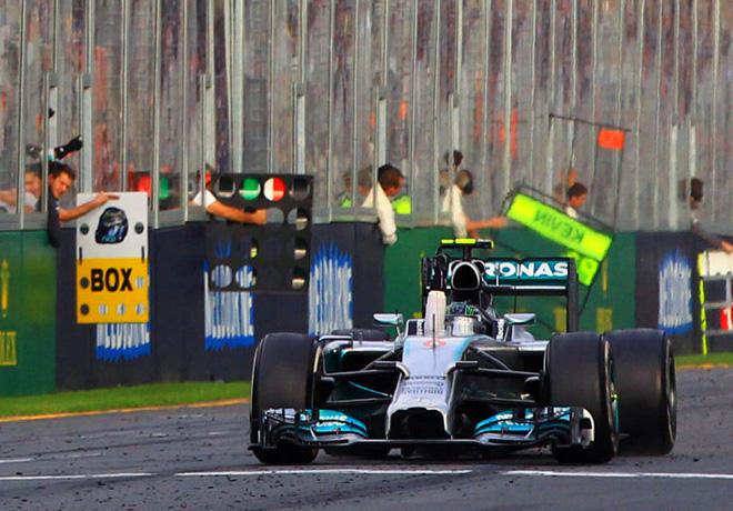 F1 - Australia 2014 - Nico Rosberg - Mercedes GP