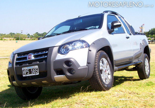 Fiat Strada Adventure Locker Un Vehiculo Utilitario Con Prestaciones Off Road on fiat palio 2000