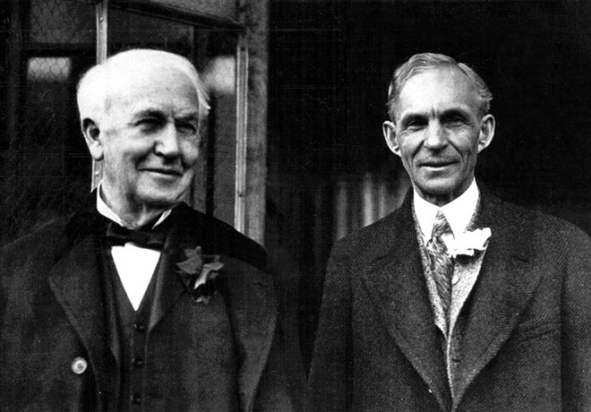 Ford - Thomas Edison y Henry Ford
