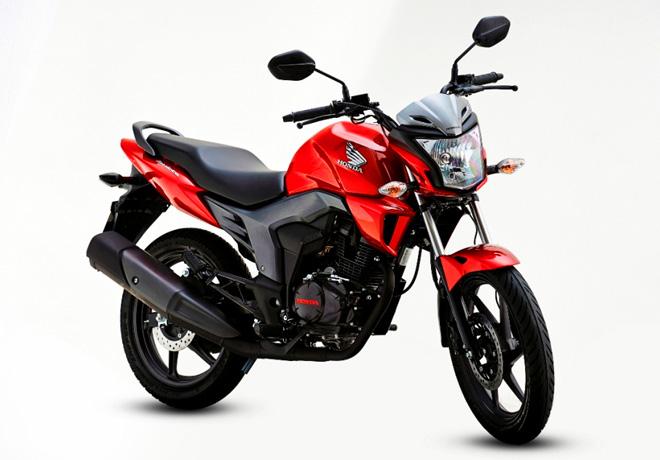 Honda CB150 Invicta 1