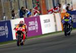 MotoGP - Qatar - Marc Marquez y Valentino Rossi