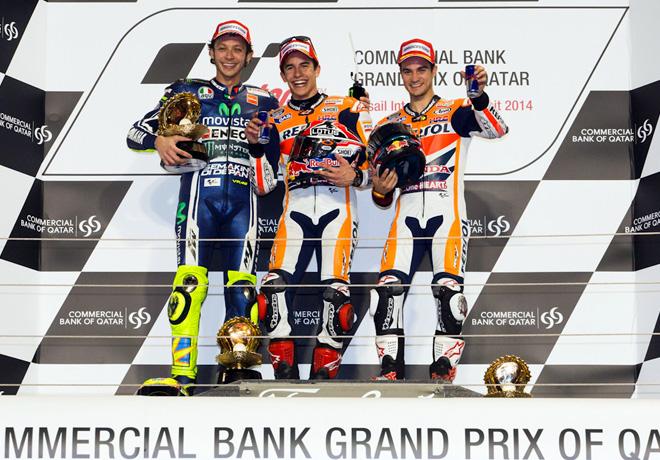 MotoGP - Qatar - Podio