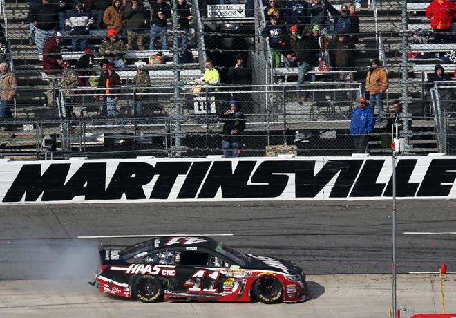 NASCAR - Martisville 2014 - Kurt Busch - Chevrolet SS