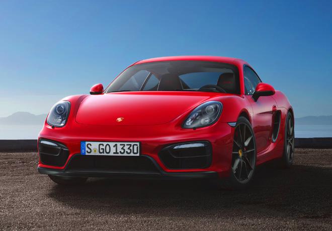 Porsche Cayman GTS 1