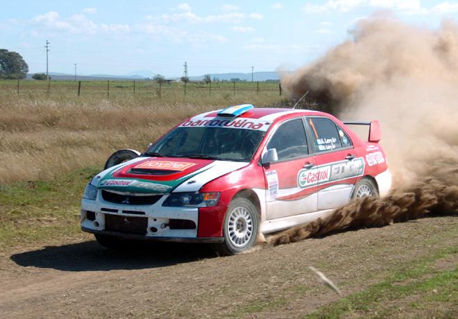 Rally Federal - Coronel Pringles - Alejandro Levy - Mitsubishi Lancer EVO