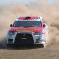 Rally Federal - Coronel Pringles - Ariel Robbiani Mitsubishi Lancer EVO