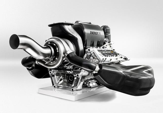 Renault - Salon de Ginebra - Motor Energy F1