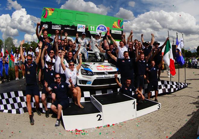 WRC - Mexico - Sebastien Ogier en el Podio