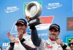 Citroen - Yvan Muller - 3ro en la carrera 1 del WTCC en Marruecos