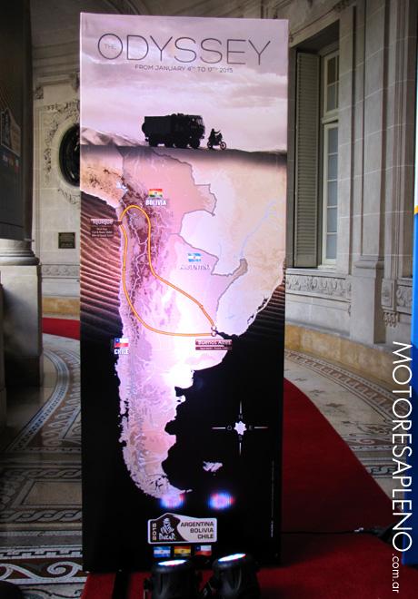 Dakar 2015 - Presentacion Oficial en Argentina 2