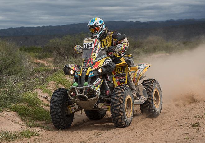 Desafío Ruta 40 2014 - Daniel Mazzucco - Can Am Renegade