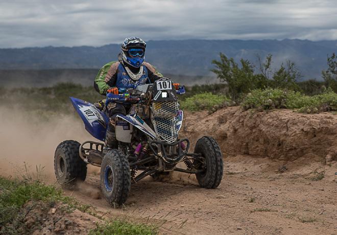 Desafío Ruta 40 2014 - Sergio Lafuente - Yamaha Raptor