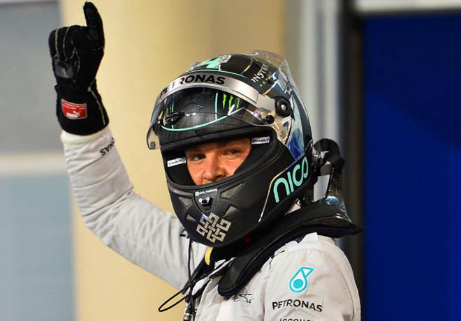 F1 - Bahrein 2014 - Nico Rosberg - Mercedes GP