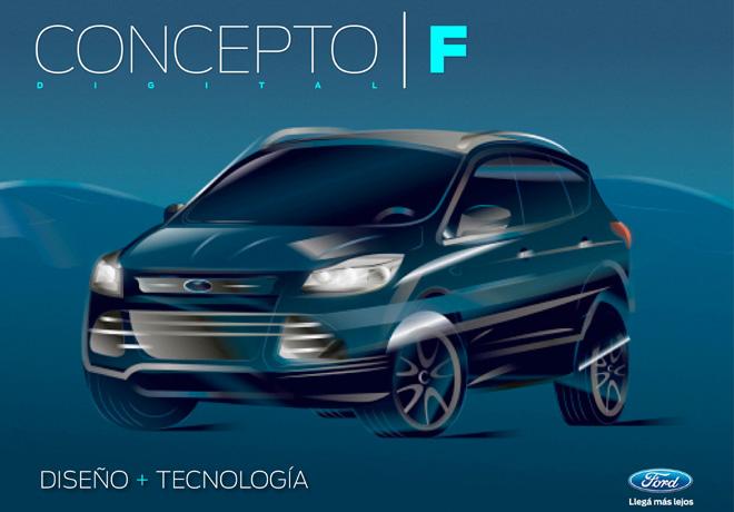 Ford lanzo el tercer numero de la revista Concepto F Digital