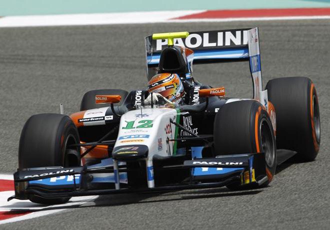 GP2 - Bahrein 2014 - Facu Regalia - Hilmer Motorsport