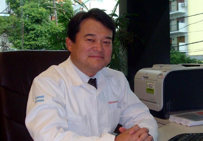Honda - Hideki Kamiyama - Nuevo presidente Honda Motor de Argentina