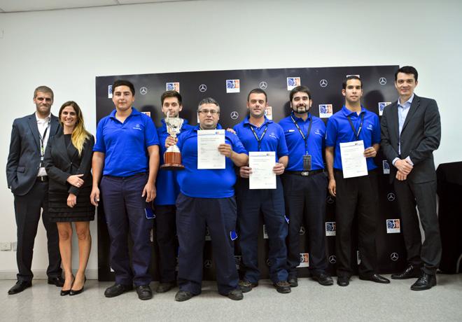 Mercedes-Benz - Federico Dottis, Cristina Torquatti y Matthias Laznik premian a los ganadores de TechMasters