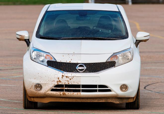 Nissan desarrolla el primer prototipo de vehículo que se limpia solo 1