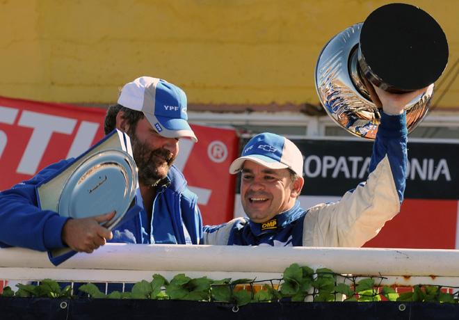 STC2000 - Viedma - Norberto Fontana y Jorge Maiquez en el Podio