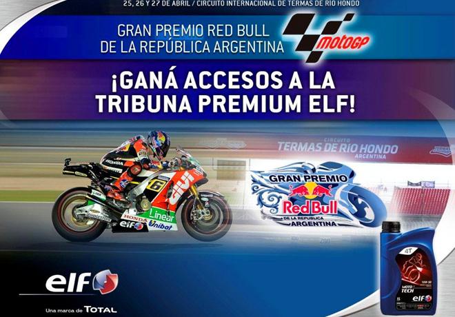 TOTAL sortea entradas para el MotoGP de Argentina