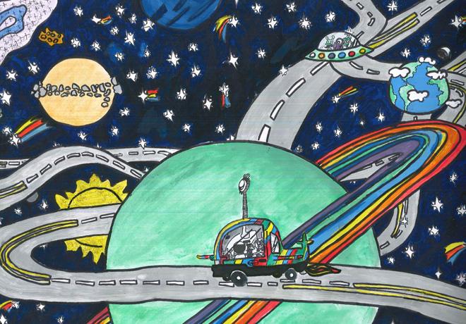 Toyota Dream Car Art Contest - Categoria 3 -  1er puesto