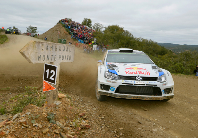 WRC - Portugal 2014 - Sebastien Ogier - VW Polo R