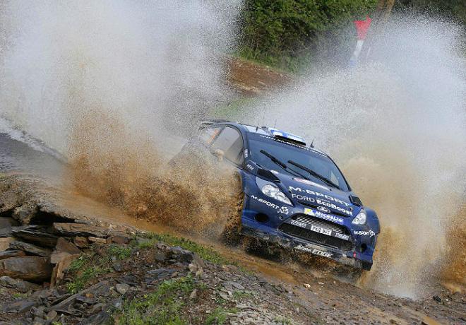 WRC - Portugal - Mikko Hirvonen - Ford Fiesta RS WRC