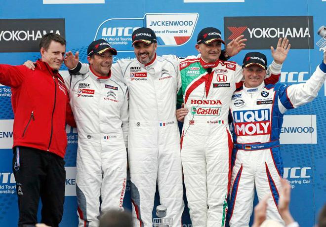 WTCC - Paul Ricard - El Podio de la carrera 1
