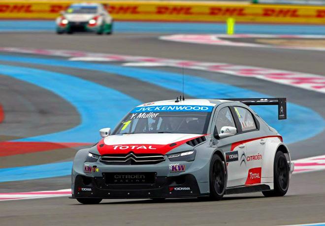 WTCC - Paul Ricard - Yvan Muller - Citroen C-Elysee