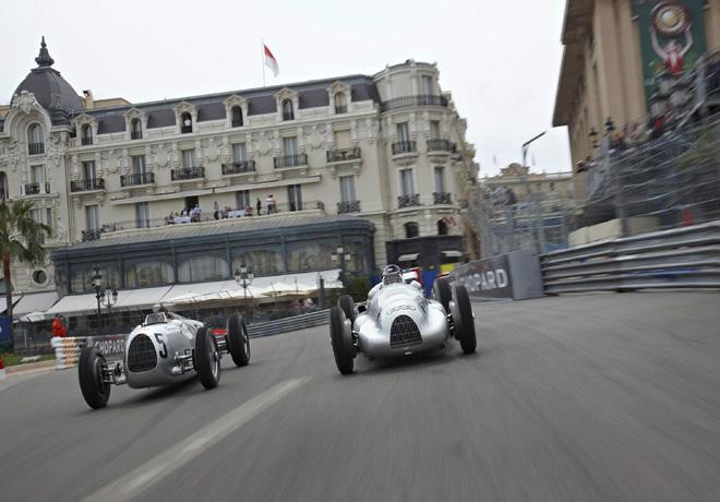 Audi Tradition en Monaco con las Flechas de Plata 1