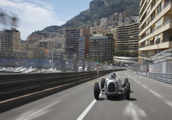Audi Tradition en Monaco con las Flechas de Plata 2