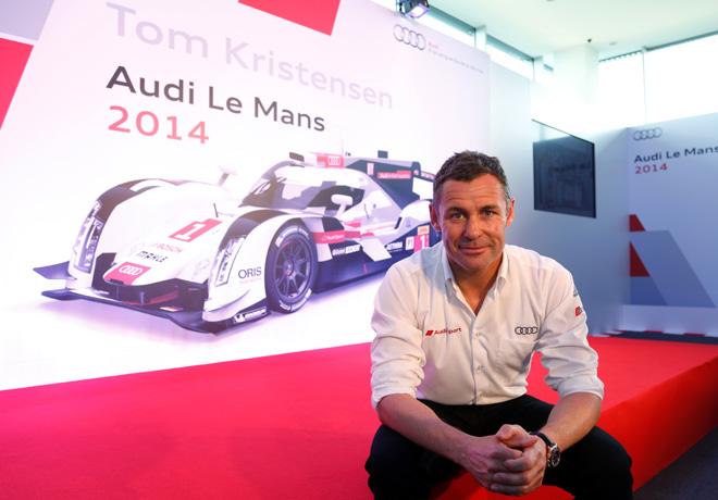 Audi y Tom Kristensen -un binomio de exito en Le Mans 1