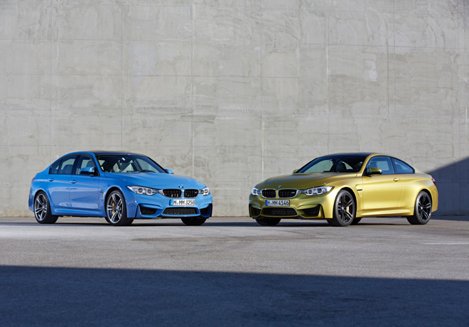 BMW M3 Sedan y M4 Coupe 1