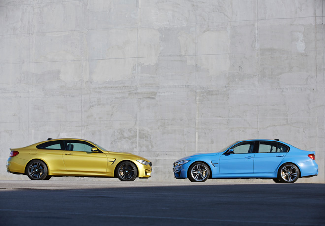 BMW M3 Sedan y M4 Coupe 4