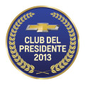 Chevrolet - Logo Club del Presidente 2013
